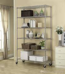 2019 commercial 82x48x18 6 tier layer shelf adjule wire metal shelving rack from newlife2016dh 65 32 dhgate com