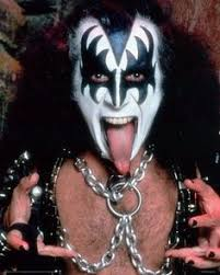 gene simmons tongue. my infant daughter acts like gene simmons. #parenting | parenting pinterest simmons, simmons kiss and tongue t