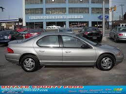 1997 Light Silver Fern Pearl Dodge Stratus ES Sedan #28802039 ...