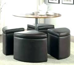 coffee table nesting stools coffee table with nesting stools stools round glass coffee table with 4