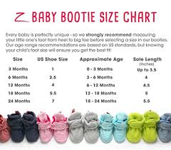 Baby Bootie Size Chart Details About Zutano Unisex Baby Newborn Cozie Fleece Bootie 18m See Size Chart Fuchsia