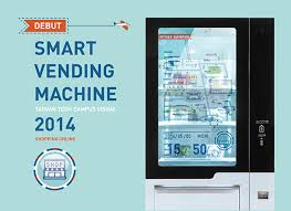 Smart Vending Machines Cool Smart Vending Machine Of Taiwan Tech Campus On Behance