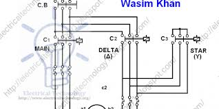 wye delta starter wiring diagram wye delta motor control schematic 3 Phase Starter Wiring Diagram three phase motor connection star delta without timer power wye delta starter wiring diagram three phase 3 phase motor starter wiring diagram