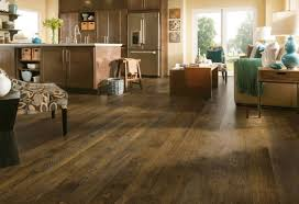 Lovely Forestry Mixed   Brown Washed Laminate Flooring