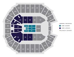 47 Judicious Row Seat Number Spectrum Center Seating Chart