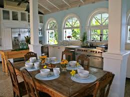 Furniture Wayfair Oak Modern Kitchen Big Glass Room Lots Glamorous