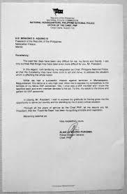 full text pnp chief alan purisima s resignation letter inquirer news purisima reignation letter
