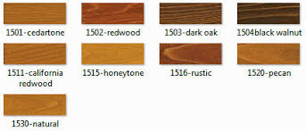 Rymar Stain Color Chart Twp 1500 Series Stain Samples
