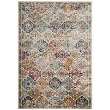 safavieh madison lyton cream indoor distressed area rug common 9 x 12 actual
