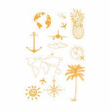 временная татуировка набор путешественника золотая код товара 496 540