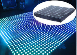 floor lighting 1. RGB 3 In 1 Dance Floor Lighting Wedding Acrylic Panels 500x500x70mm Unit Size