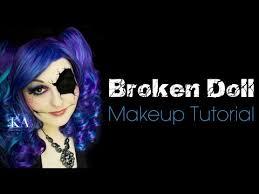 broken doll makeup tutorial you missing eye