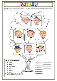Family Members Worksheet English Lessons At Word Worksheets ...