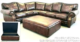 leather sofa review furniture ottomans the company reviews futura slumberland