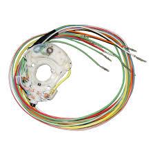 scott drake c7zz 13341 f mustang turn sig switch wiring fixed col 67 turn signal wiring fixed steering wheel 1967