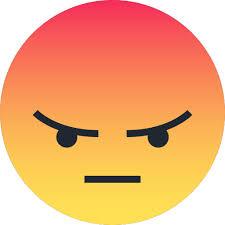 Angry Emoji Emoticon Reaction Sad Icon