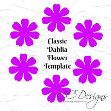 Small Paper Flower Templates Small Paper Flower Templates Free Template Getpicks Co