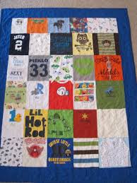 Danielle's Triple Quilt Order Complete - Quilted Affair & After RJ's quilt, I moved on to Danielle's double sided t-shirt quilt. One  side of the quilt had a standard quilt block layout and went very ... Adamdwight.com