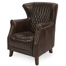 high back leather chairs. Bailey High Back Leather Chair Chairs