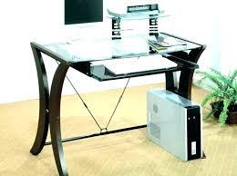 black glass top desk glass ikea black glass top desk