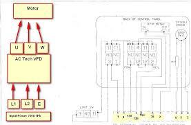 wiring ac tech vfd to bridgeport need some help wired but not working actech bp jpg