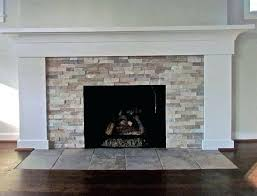stone tile fireplace stone tile fireplace ideas stacked stone tile around fireplace