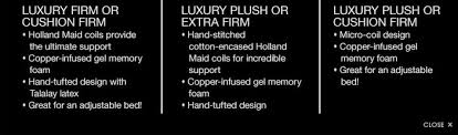 plush vs firm mattress. Luxury Firm Or Cushion Firm. Holland Maid Coils Provide The Ultimate Support. Copper- Plush Vs Mattress