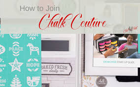 Chalk Couture Designer How To Join Chalk Couture Chick N Chalk