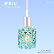 フレッヒダックス of the pendant light swarovski petit chandelier brillia yellowtail rear pearl white series antique green interior lighting using the