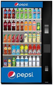 Pepsi Glass Front Vending Machine New Vending Snacks All Brands Refreshments