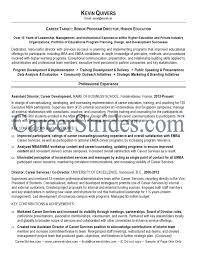 Higher Ed Resume Examples