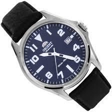 orient automatic blue dial mens military watch er2d009d
