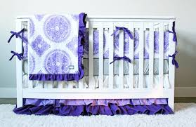 unique purple girl crib bedding baby girl purple nursery bedding lavender crib set