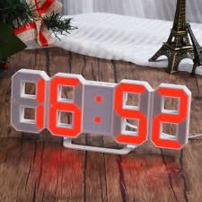Modern Memo Board Digital Alarm Clocks with Memo Board eBay 98