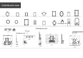 mirrors free cad file