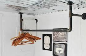 ... Wardrobe Racks, Laundry Room Clothes Rod Laundry Room Wall Hanging Rack  Industrial Laundry Room Drying ...