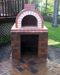 design a homemade wood fired pizza oven brick plans stand ideas splendid perfectly constructed this diy