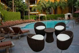 outstanding resin wicker patio furniture sahara set living pertaining to fake outdoor plans 17