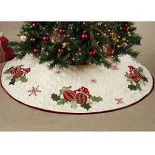 Jolly Santa Quilted Christmas Tree Skirt 54    Christmas Tree ... & Jolly Santa Quilted Christmas Tree Skirt 54