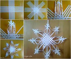 paper snowflakes 3d diy 3d paper snowflake christmas ornament paper snowflakes 3d