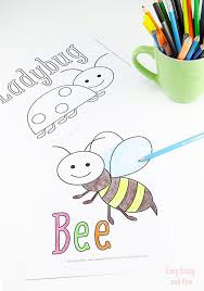 Small Picture Little Bugs Coloring Pages for Kids Easy Peasy and Fun