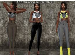Monique Collection by teenageeaglerunner - The Sims 4 Download -  SimsDomination