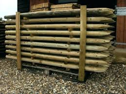 round wood fence posts pressure treated fence posts for x pressure treated machine round wooden