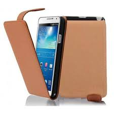 Samsung Galaxy NOTE 3 in COGNAC BRAUN ...