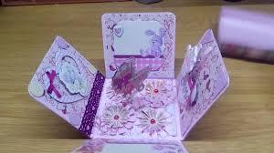 Babygirl Cards Handmade Baby Girl Greeting Card Youtube