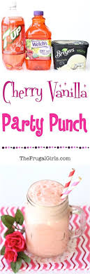 EASY DREAMY FROTHY PINK PUNCH RECIPE  Pink Party Punches Punch Punch For Girl Baby Shower