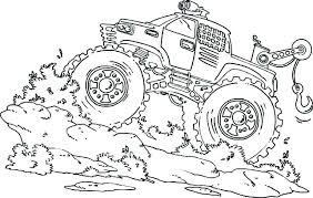 Free Monster Truck Coloring Page Coloring Pages Free Monster Truck
