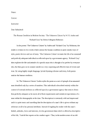 human condition essay the human condition in modern society the  the human condition in modern society the unknown citizen by the human condition in modern society