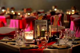 ... Contemporary Wedding Table Accessories And Decoration Using Cute Wedding  Centerpiece : Astonishing Pink And Black Wedding ...