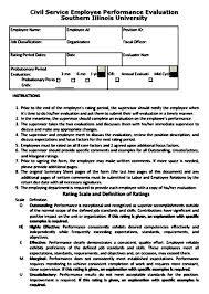 Restaurant Employee Performance Evaluation Form Employee Evaluation Form Printable Mous Syusa